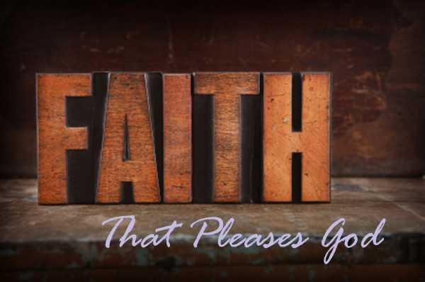 What kind of Faith Does It Take To Please God?